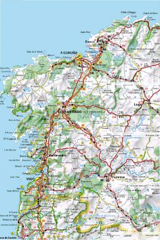 Mapa Autopista AP-9